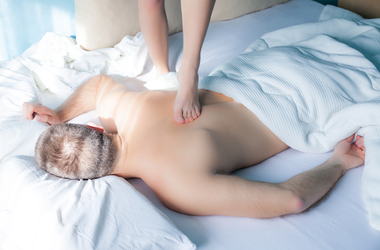 Erotic massage by escorts