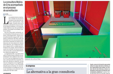 WE ARE ON THE NATIONAL NEWS! LA VIE EN ROSE IN EL PERIODICO
