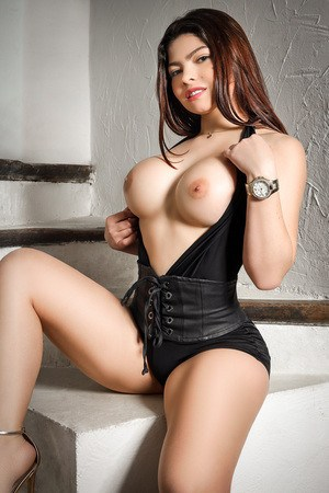 Stephany: Colombian escort in Barcelona