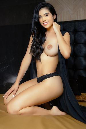 Andrea colombian escort in Barcelona