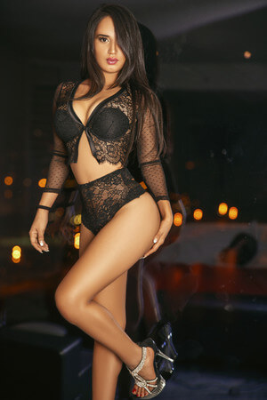 Dulce spanish escort in Barcelona