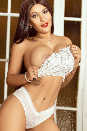 Hanna colombian escort in Barcelona