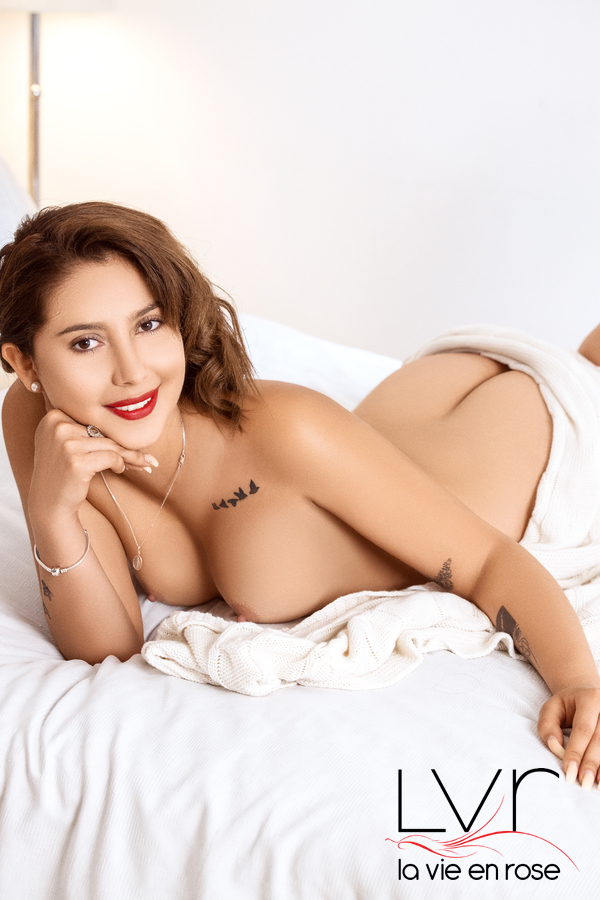 Abby escort colombiana a Barcellona
