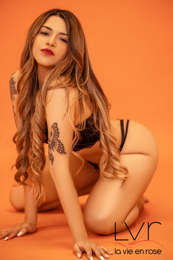 Amber latin escort in Barcelona
